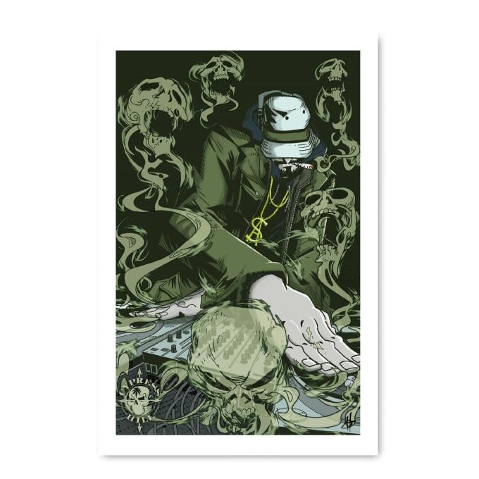 Cypress Hill: Tres Equis Art Print 03