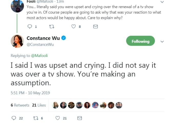 Wu tweet