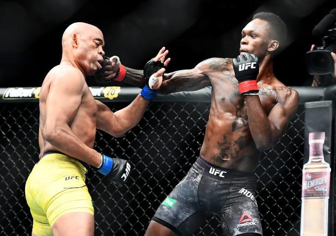 UFC 248 Israel Adesanya