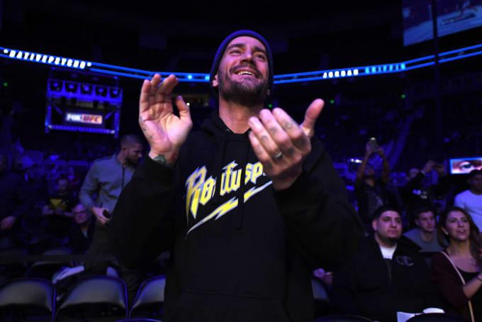 CM Punk Dec 2018 UFC Getty