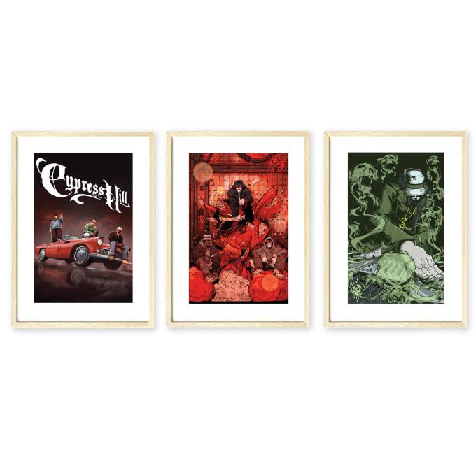 Cypress Hill: Tres Equis Art Set