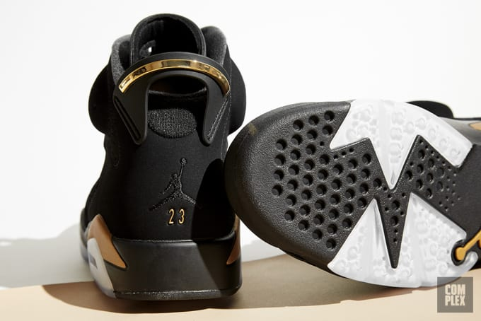 DMP Air Jordan 6 Retro Heel