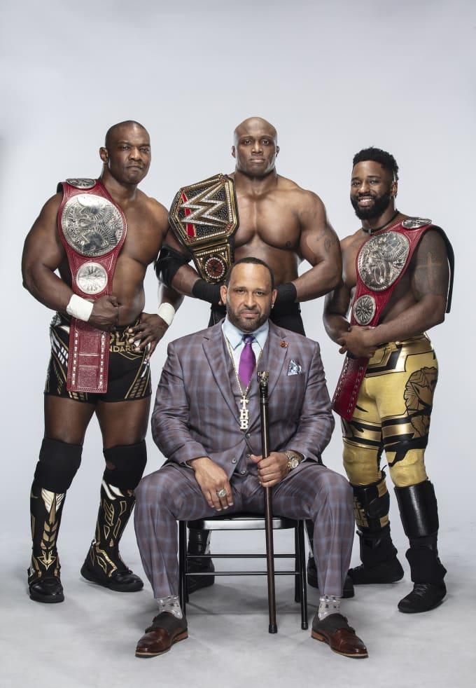 The Hurt Business: Shelton Benjamin, Bobby Lashley, MVP, and Cedric Alexander
