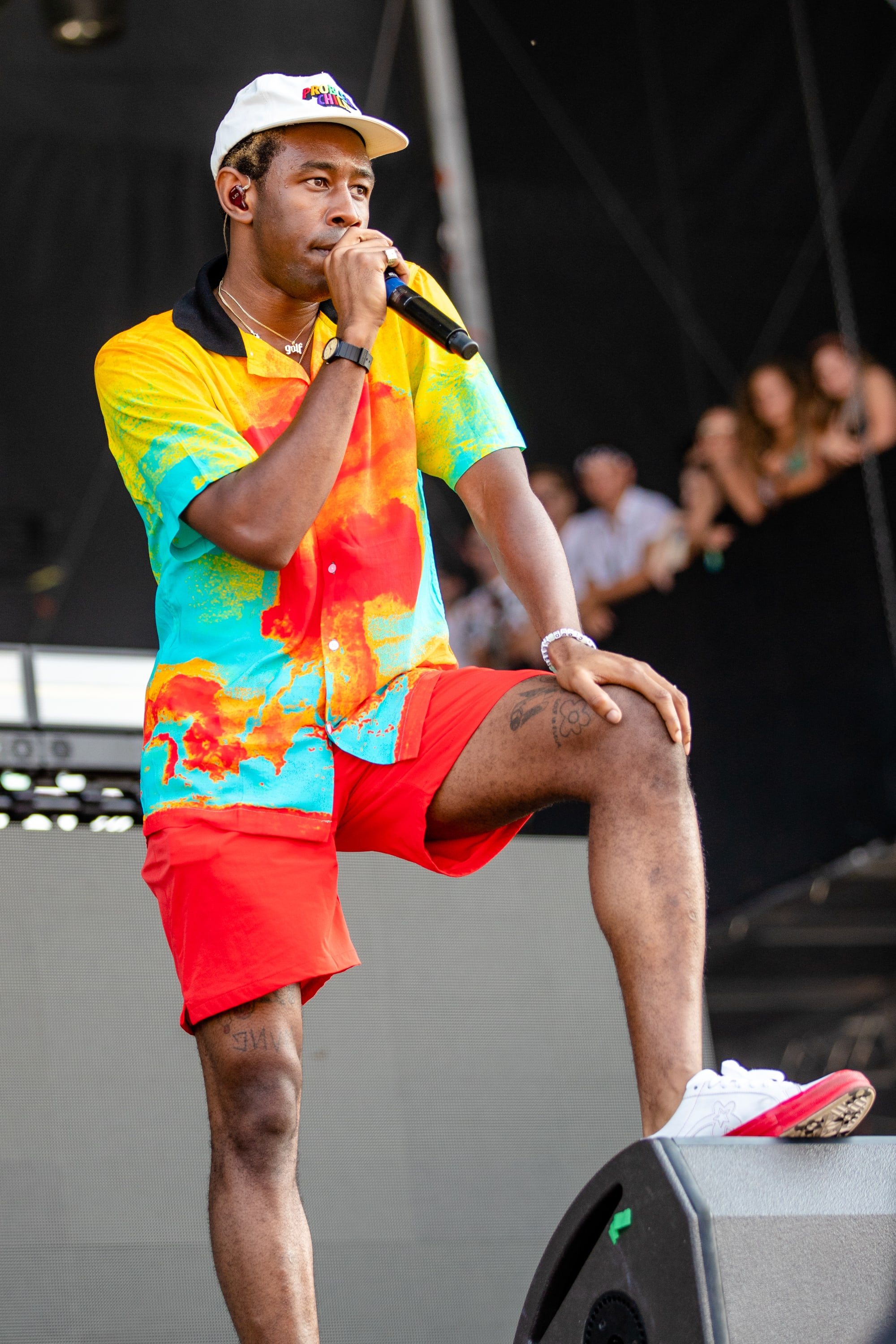 Tyler The Creator at Lollapalooza 2018
