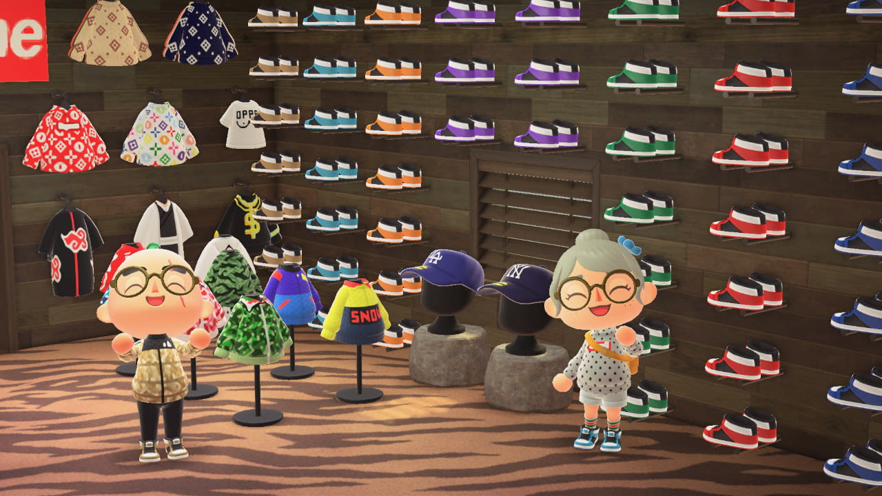 Animal Crossing New Horizons Has Streetwear Enthusiasts Making Fits While Quarantined Complex