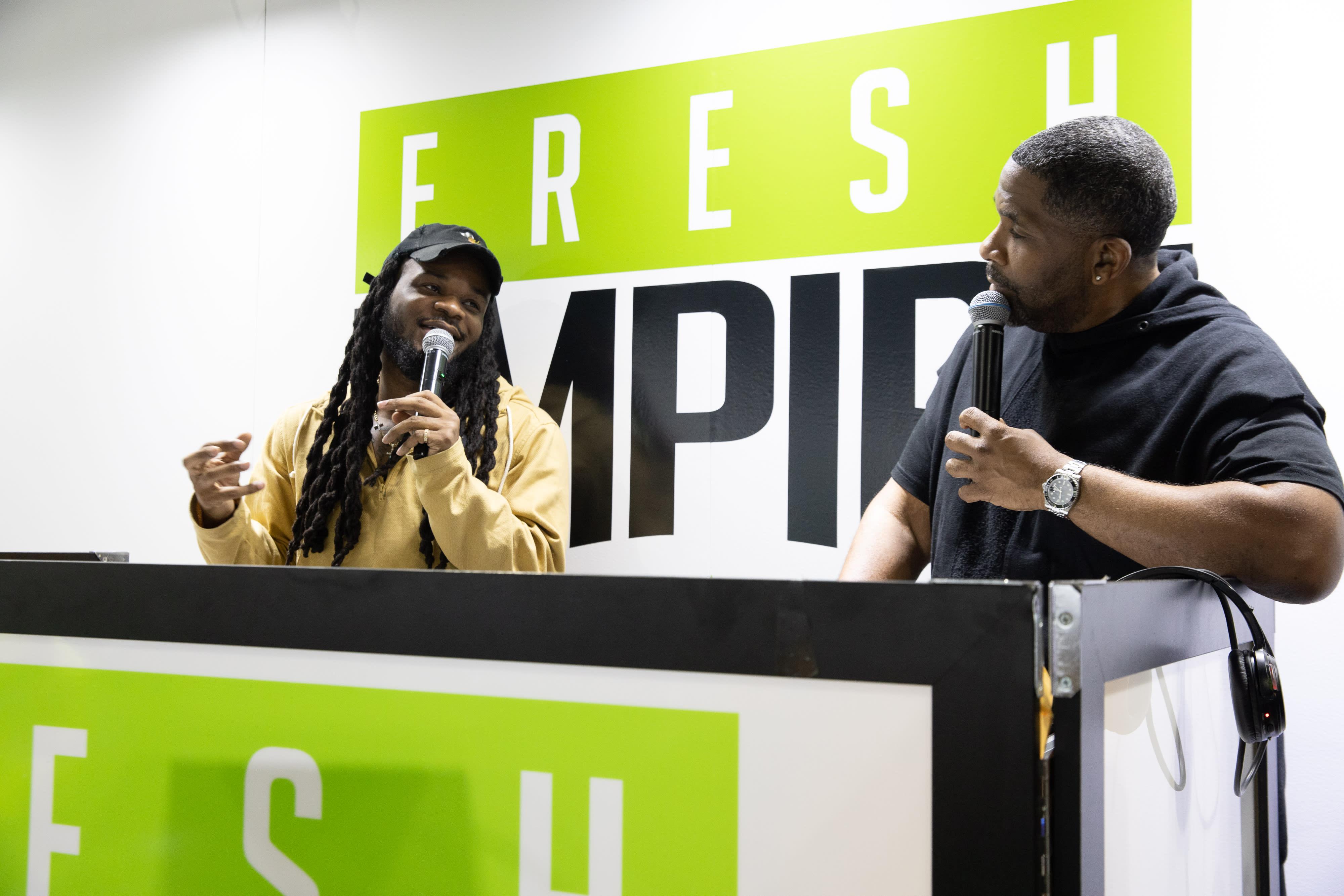 Eman Hudson x Fresh Empire at ComplexCon Speaking
