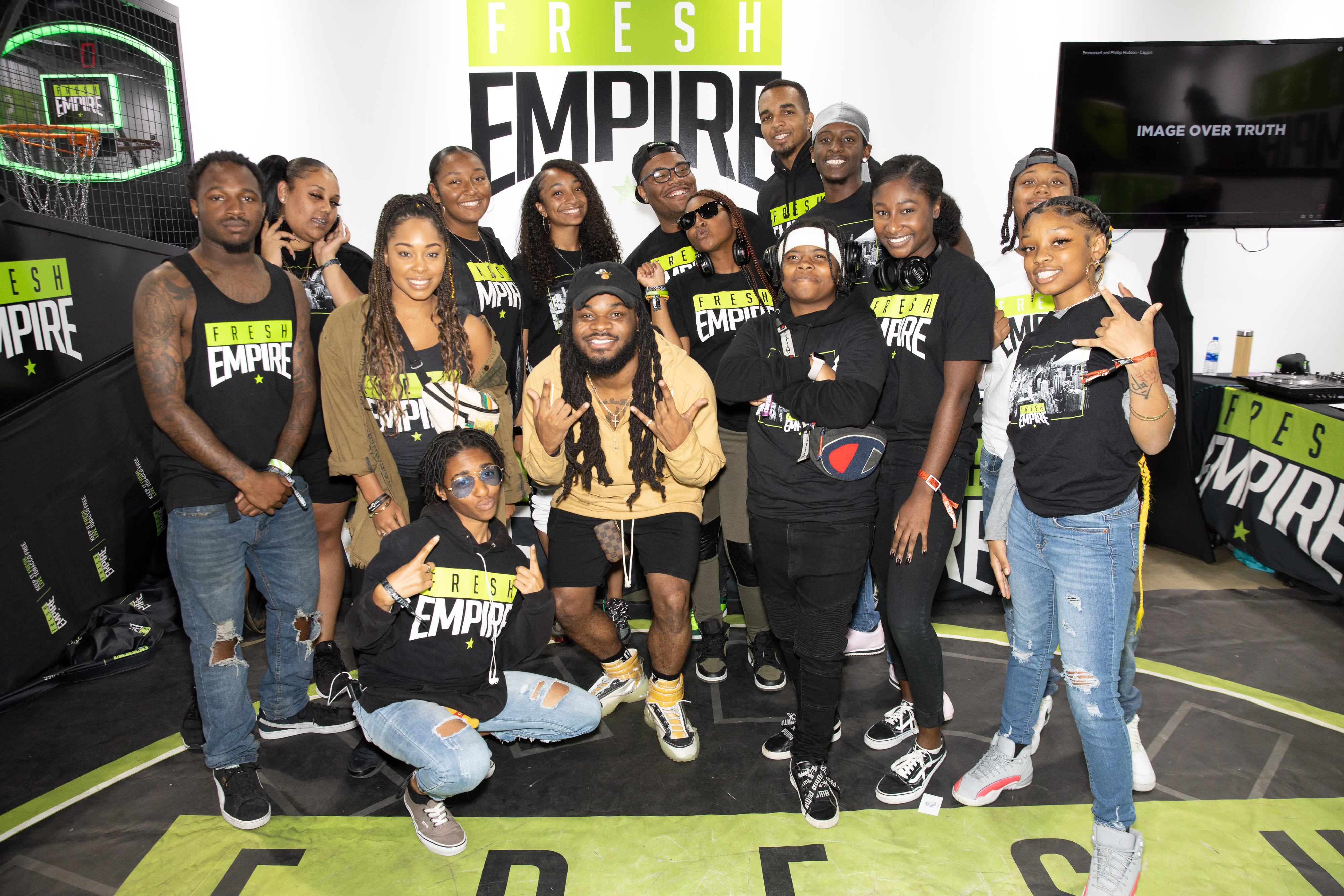 Eman Hudson x Fresh Empire at ComplexCon Speaking 2