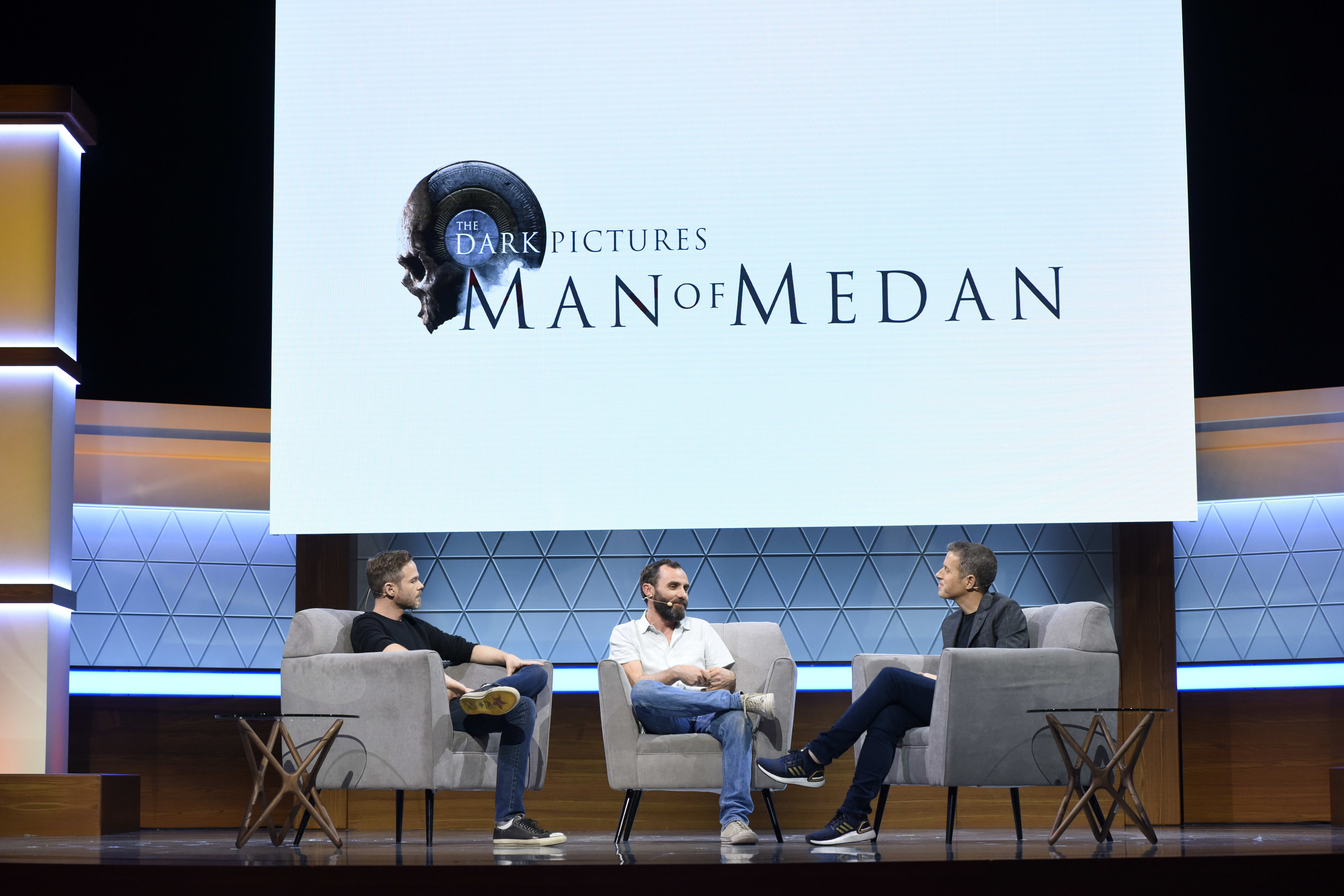 'The Dark Pictures: Man of Medan' discussion at E3