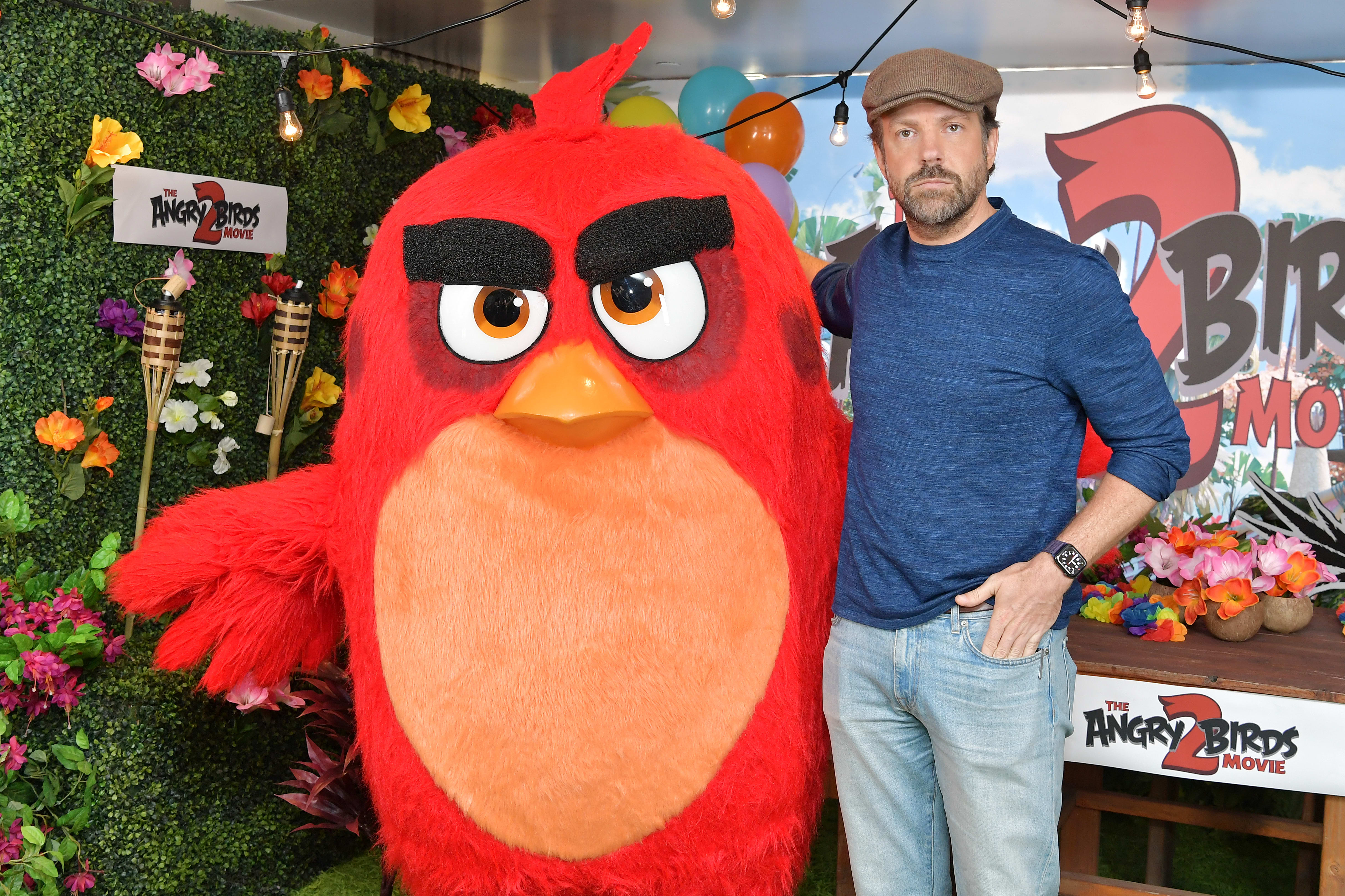 Jason Sudeikis at 'Angry Birds Movie' event
