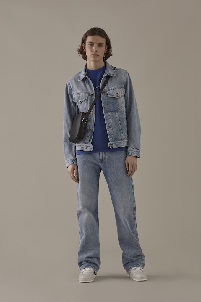 4dce4937ef9 Louis Vuitton Unveils Fall Menswear Pre-Collection  Staples Edition ...