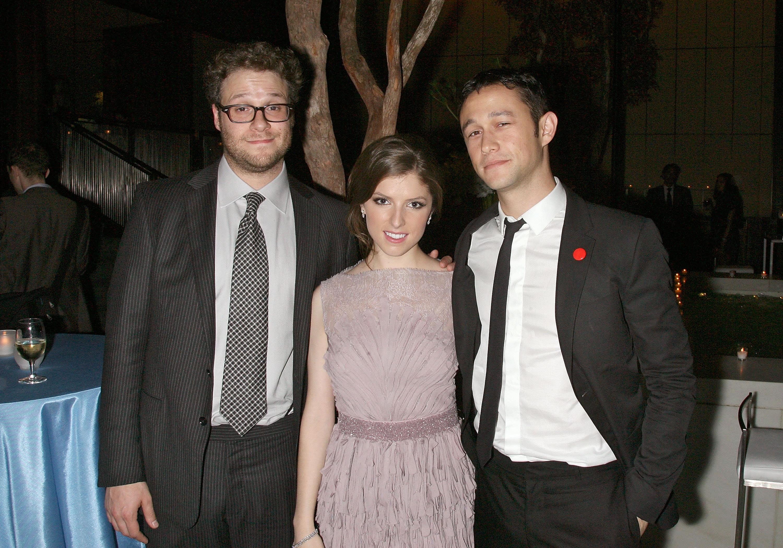 '50/50' stars Seth Rogen, Joseph Gordon-Levitt and Anna Kendrick