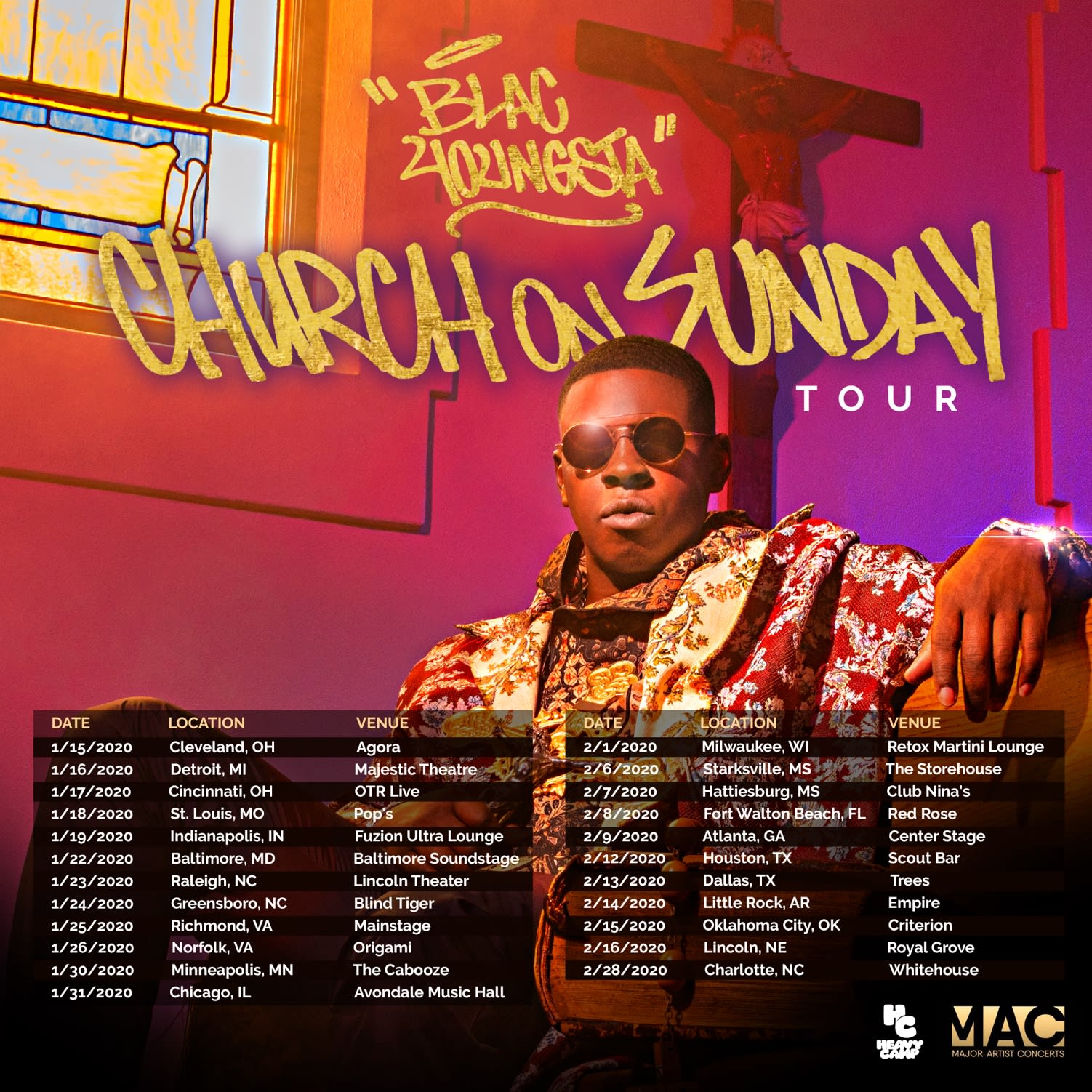 Blac Youngsta 'Church on Sunday'