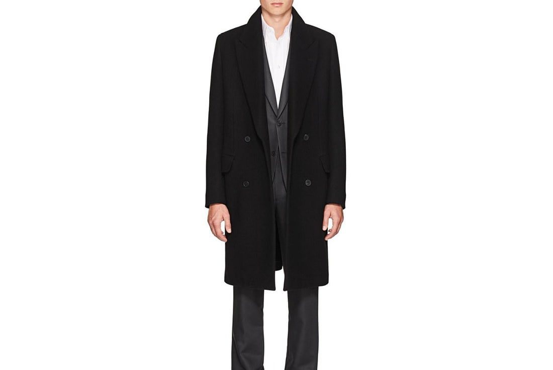 the row wool melton coat