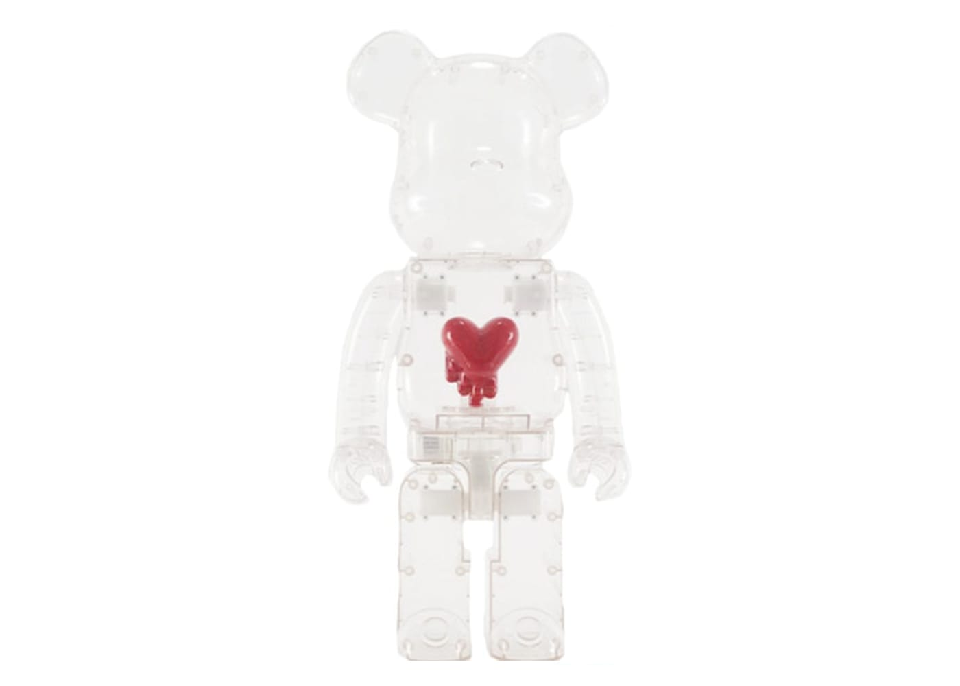 Emotionally Unavailable Bearbrick Heart