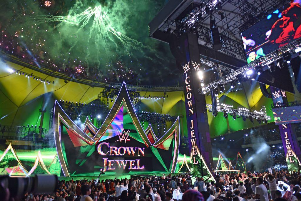 Crown Jewel WWE Saudi Arabia 2019 Getty