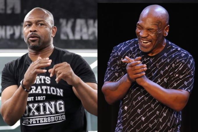 Roy Jones Jr Mike Tyson 2019