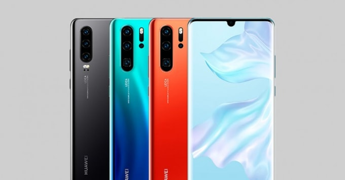 Huawei Unveils New P30 Series