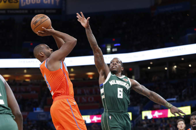 Chris Paul Eric Bledsoe Thunder Bucks 2019