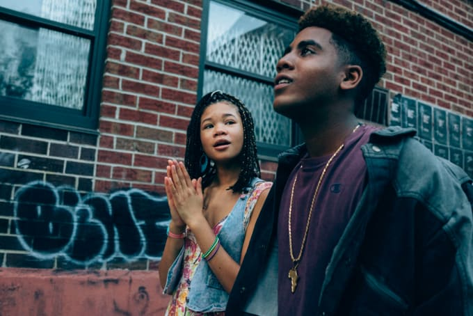 Storm Reid and Jharrel Jerome in 'When They See Us'