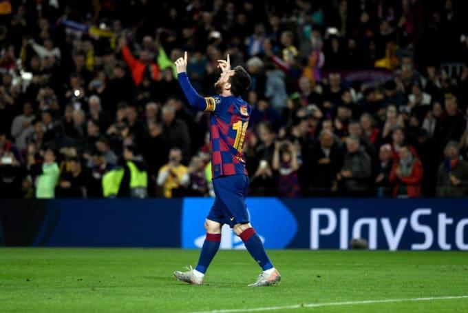 Messi Barcelona Dortmund 2019 UEFA