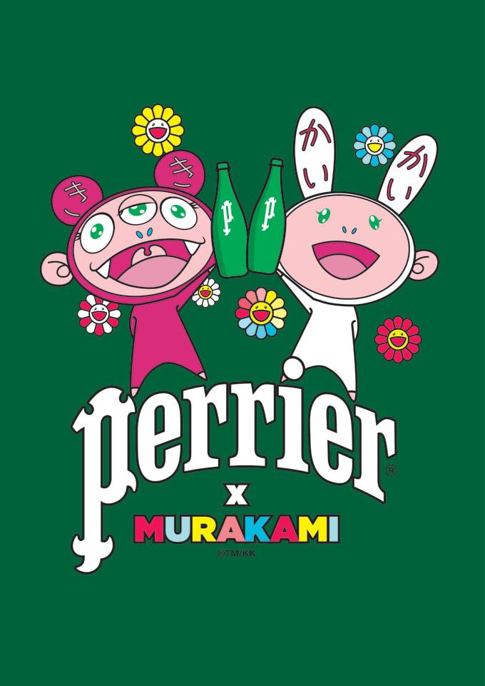 PERRIER x MURAKAMI