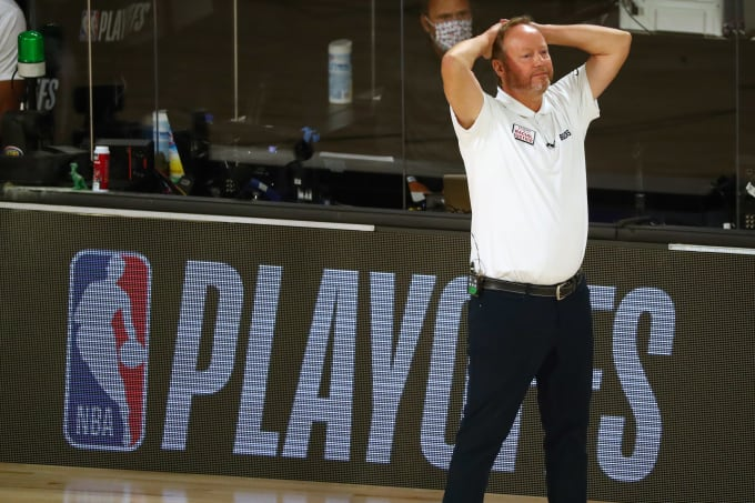 Mike Budenholzer Bucks Heat Game 2 2020