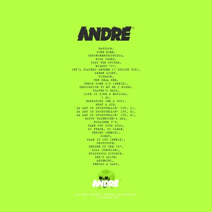 Andre x Tyler