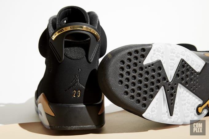 DMP Air Jordan 6 Retro Heel
